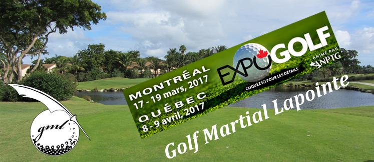 Concours: billets pour le salon du golf!