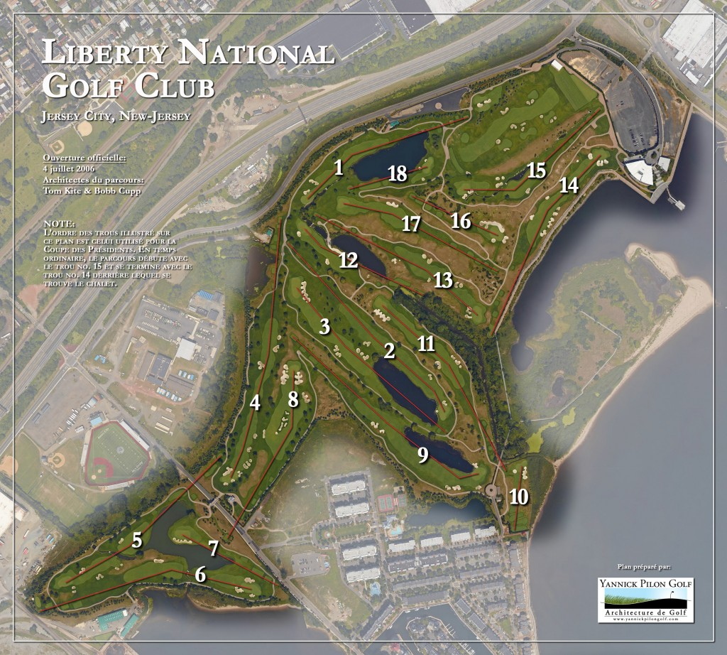 Liberty National Aerial (President Cup version)