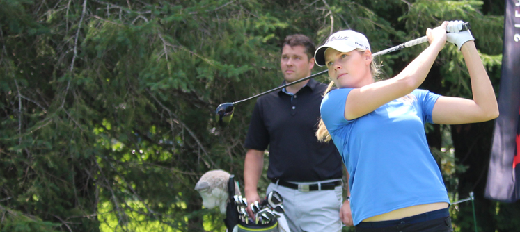 Maude-Aimée demeure au sein de la LPGA
